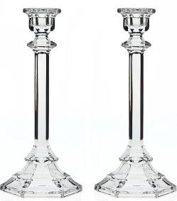 Godinger crystal candlestick pair