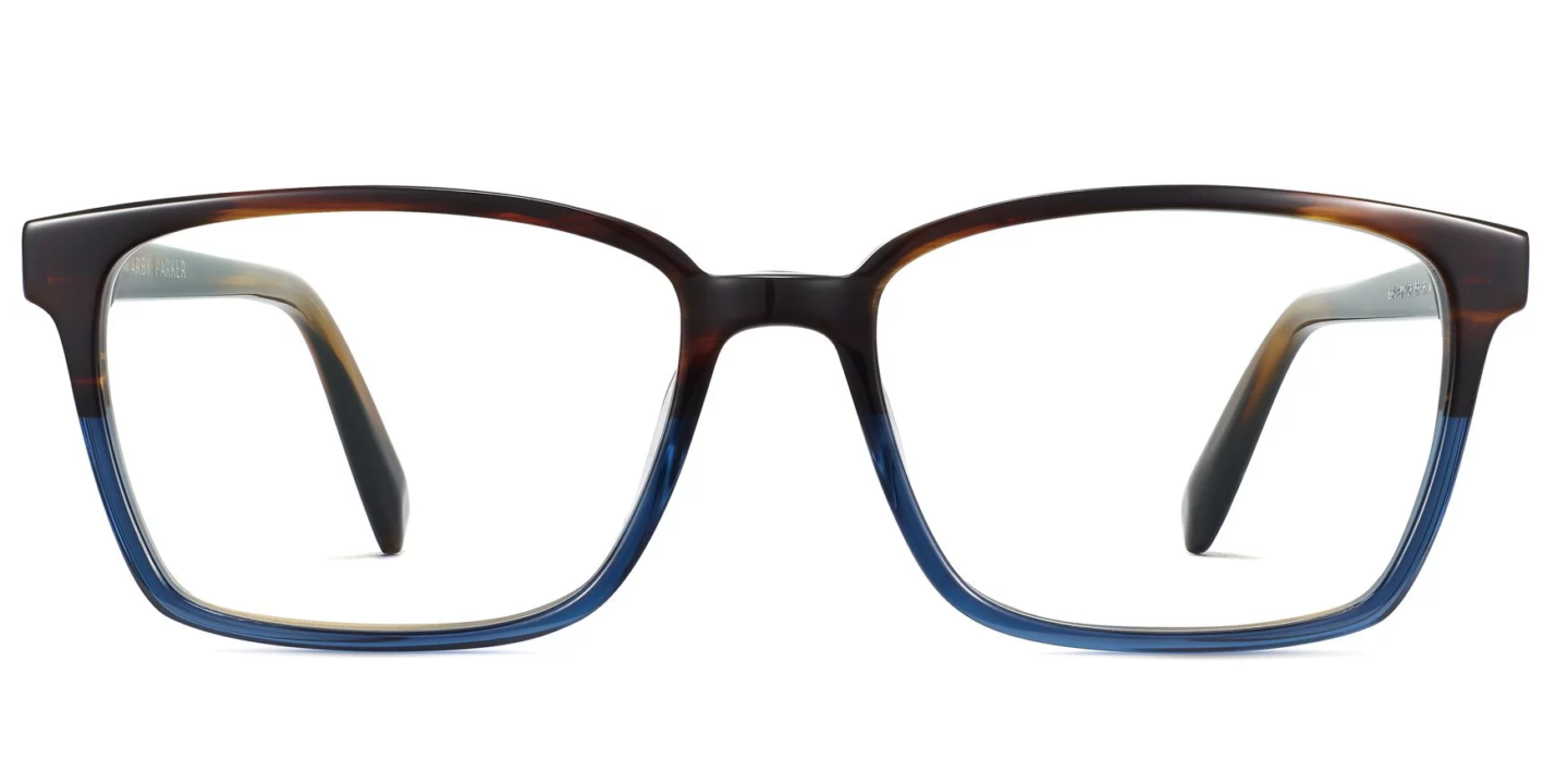 Warby Parker Bryon in Agean Blue Fade
