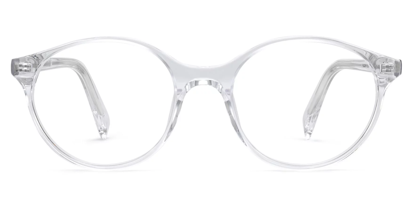 Warby Parker Farris style frames in crystal are a smart look when you're after a chic and timeless classic style. Come on over to read: Warby Parker Glasses Keep Me Seeing Clearly & Bring Vision to Less Fortunate.