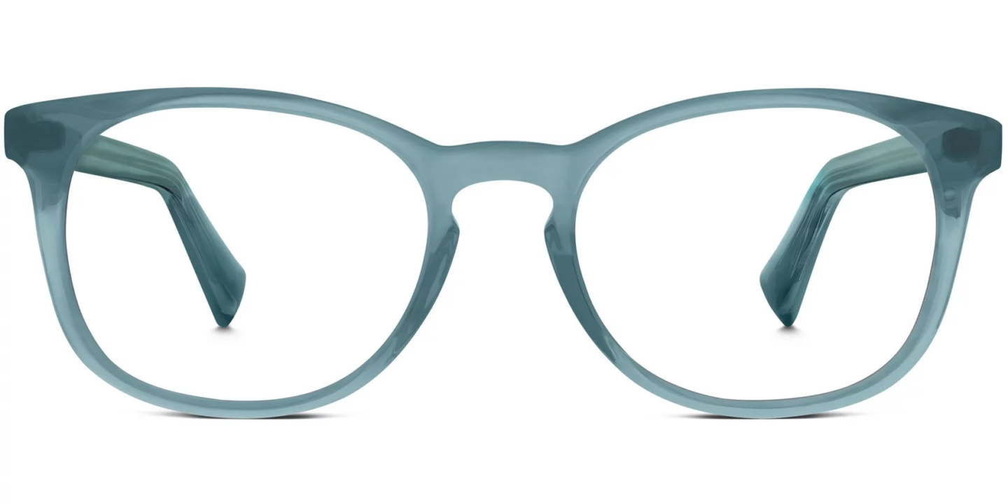 Warby Parker Lyle frames in Beach Glass are a soft look and a stylish option when you want classic yet fresh. #warbyparker #Lyle #glasses #eyewear #fashion