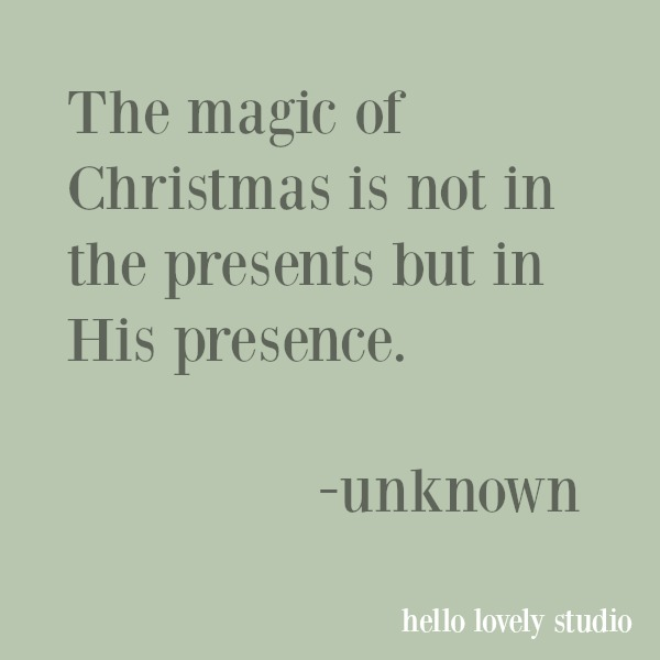 Inspirational quote about Christmas. #quotes #christmas #christianity #faith