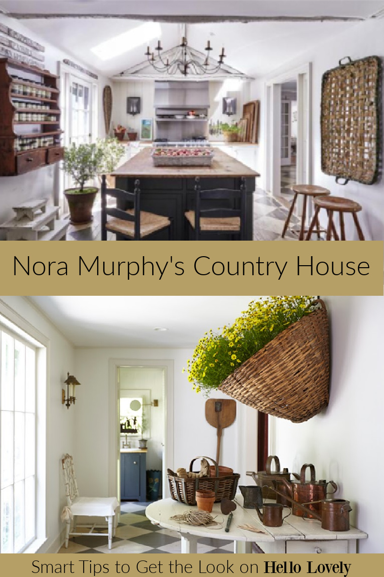 Nora Murphy's Country House - beautiful classic American country style in a Connecticut farmhouse. Get the book (Vendome Press) today!