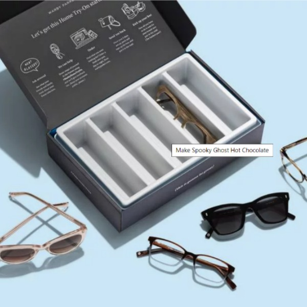 Warby Parker makes shopping for prescription sunglasses a breeze with their try on program. Choose 5 pairs to try on for free! #eyewear #warbyparker #sunglasses #prescriptivelenses