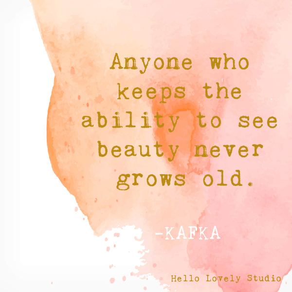 Kafka whimsical inspirational quote on Hello Lovely Studio on a watercolor background. #whimsicalquotes #inspirationalquotes #hellolovelystudio