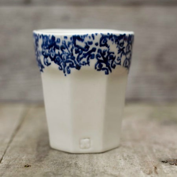 Cafe Chez Maman Handmade Mug
