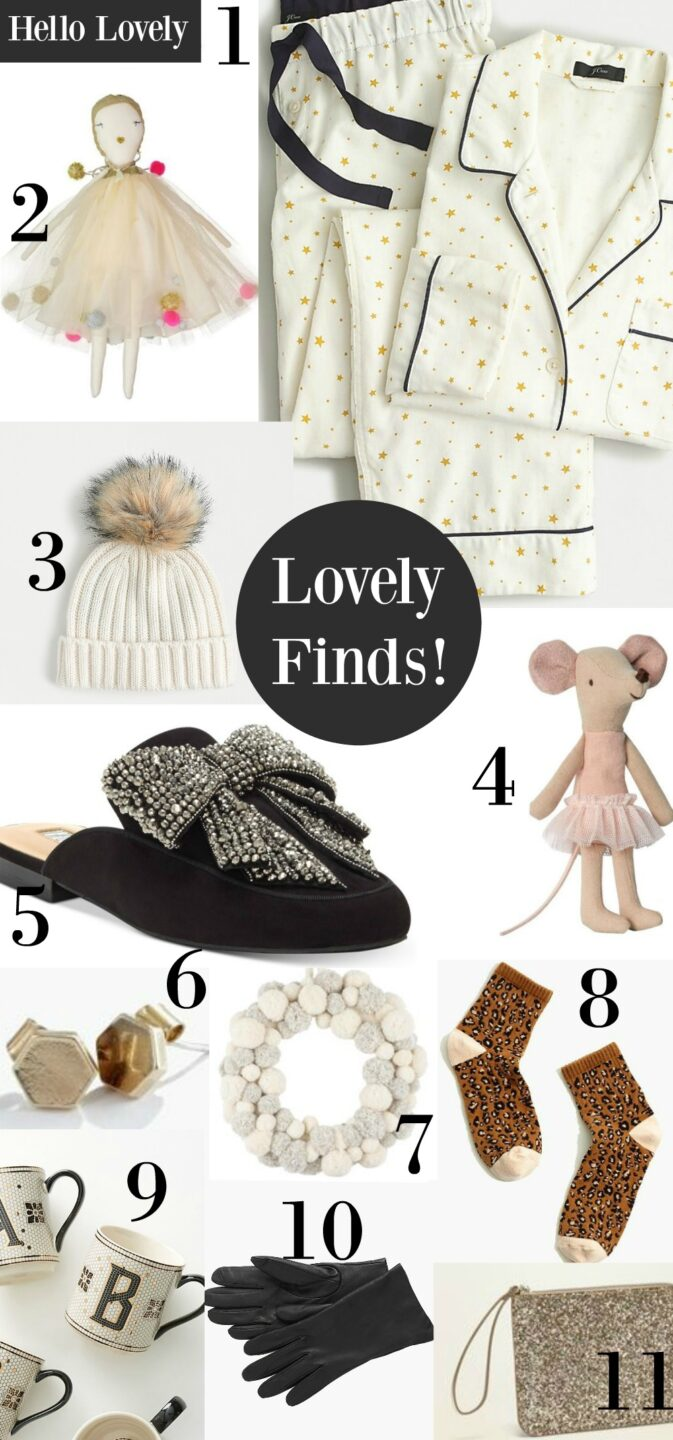 Hello Lovely Studio lovely finds! #giftguide