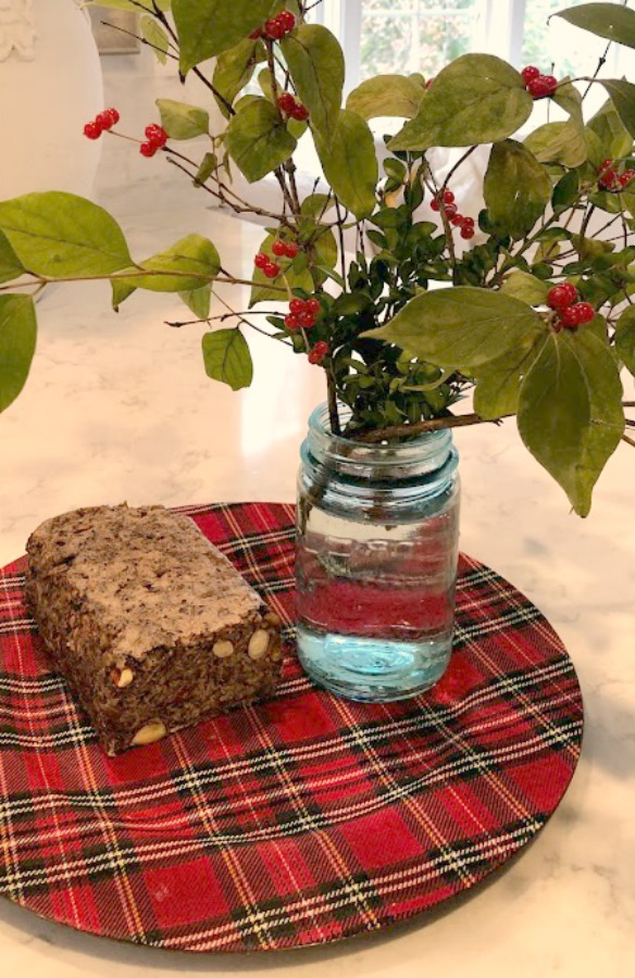 Gluten free bread with no need to fuss or knead! My Easy Healthy Flourless Bread Recipe to Seeds the Day in case you love nutritious yum! #hellolovelystudio #breadrecipe #glutenfreebread #flourlessbread #healthyrecipe
