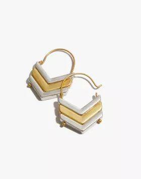 Madewell Arrowstack Earrings