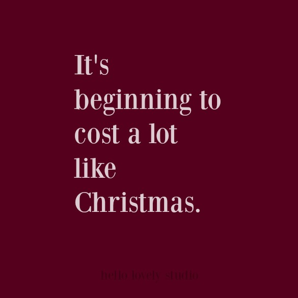 Funny holiday humor Christmas quote. #humor #funnyquote #christmas #quotes