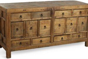 Rustic Reclaimed Elm Cabinet