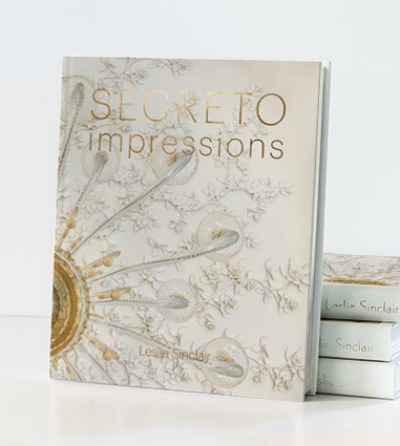 Segreto impressions by Leslie Sinclair - book cover.