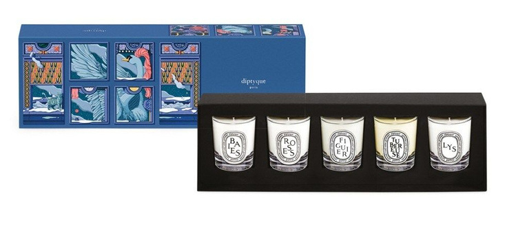Diptyque 5 scented candle set