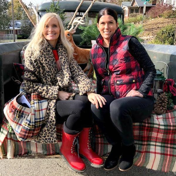 Michele and E at Urban Farmgirl in Rockford, IL.