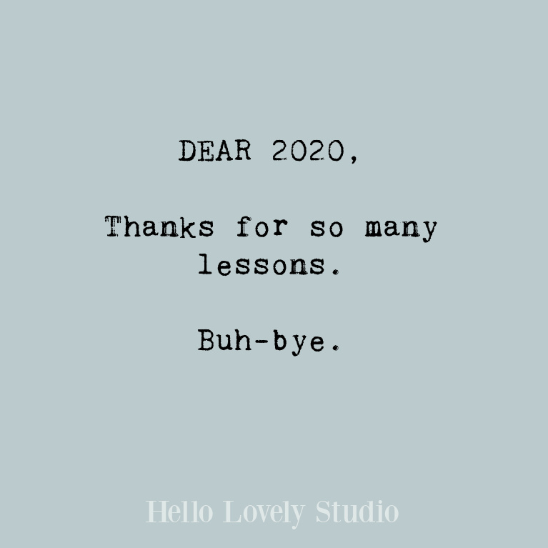 Inspiring New Year quote to promote hope, peace, love, and encouragement in the days ahead - Hello Lovely Studio. #quotes #newyearquotes #encouragementquotes