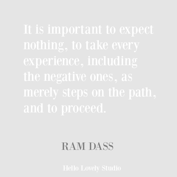 Ram Dass inspirational quote about compassion on Hello Lovely Studio. #quotes #inspirationalquote #ramdass #compassionquote
