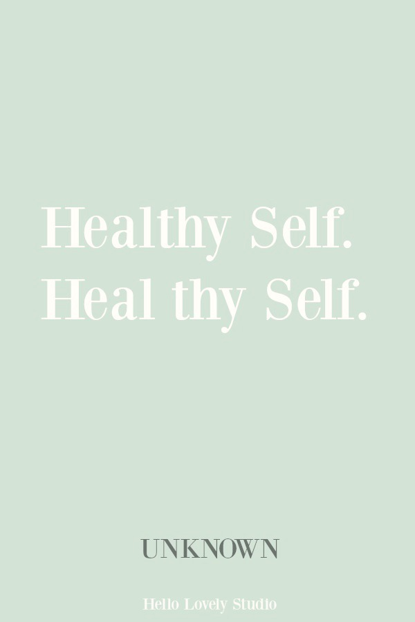 Inspirational quote about healing on Hello Lovely Studio. #inspirationalquote #healing #quotes