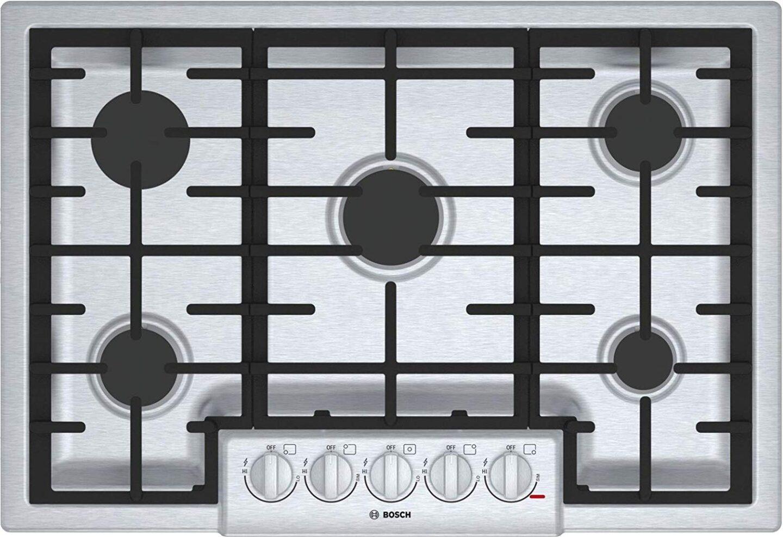 Bosch 800 series cooktop.