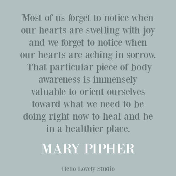Mary Pipher quote about struggle, personal growth, and despair on Hello Lovely Studio. #personalgrowth #inspirationalquote #strugglequotes