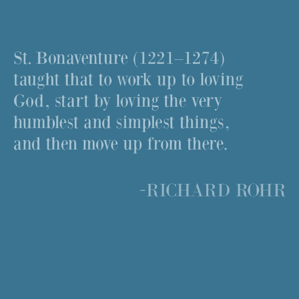 Richard Rohr inspirational quote on Hello Lovely Studio. #richardrohr #inspirationalquote #faith #christianity #spirituality #spiritualformation