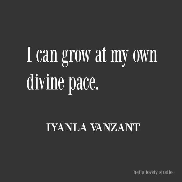 Inspirational quote to encourage from Iyanla Vanzant on Hello Lovely Studio. #inspirationalquote #iyanlavanzant #encouragement #personalgrowth #quotes #lifequote