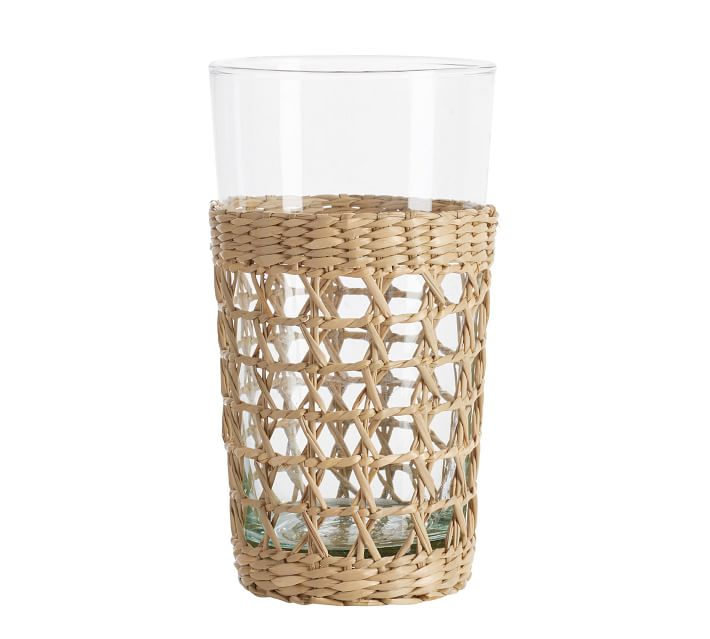 Cane tumbler from Pottery Barn