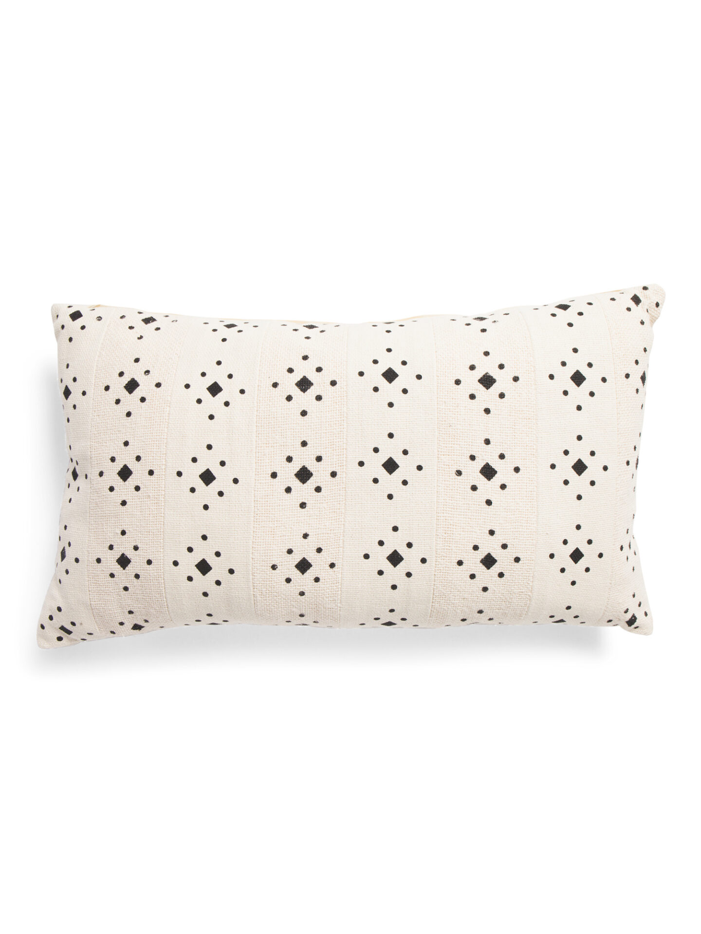 Diamond dot mudcloth indigo collection pillow