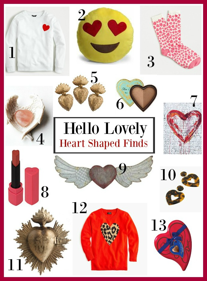 Heart Shaped Finds - Hello Lovely Studio
