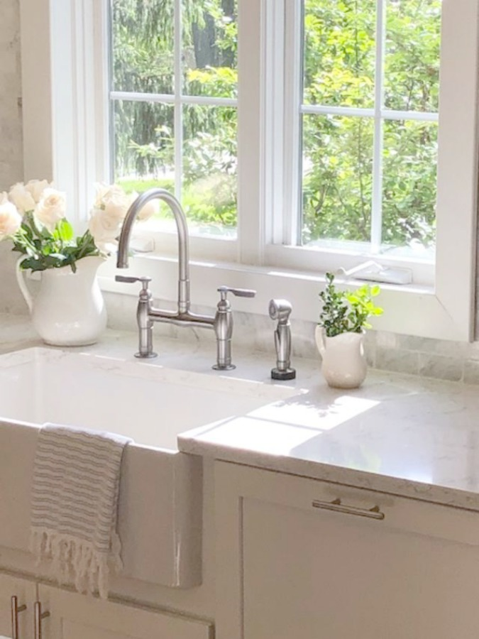 Apron Front Farm Sinks Why I Chose One For Our Classic Shaker Kitchen Hello Lovely