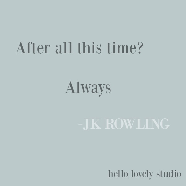 Inspirational quote from J. K. Rowling on Hello Lovely Studio. #inspirationalquote #jkrowling #quotes
