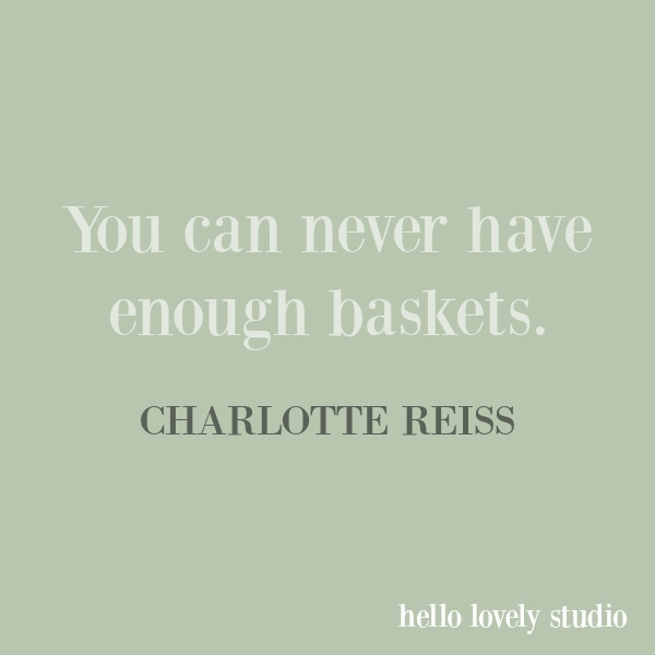 Charlotte Reiss of Vivi et Margot quote on Hello Lovely Studio.