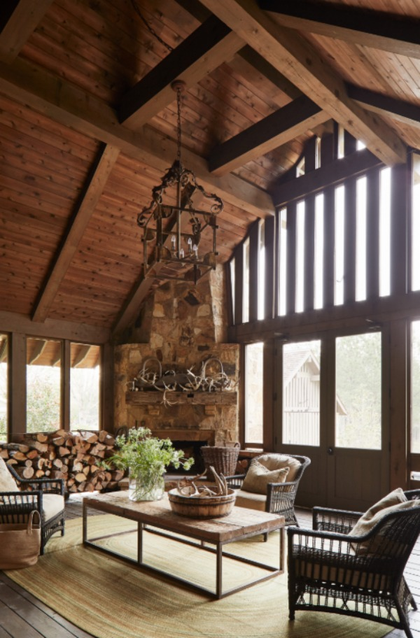 Exquisite architecture and design by Jeffrey Dungan for his Marsh Farm project. #jeffreydungan #interiordesign #sophisticateddecor #timelessdesign