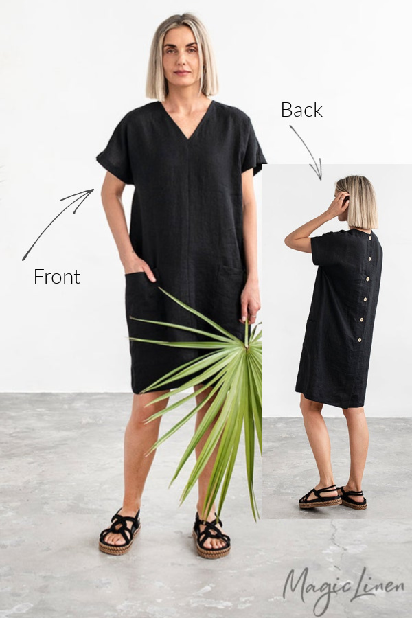 Magicinen long Tybee tunic