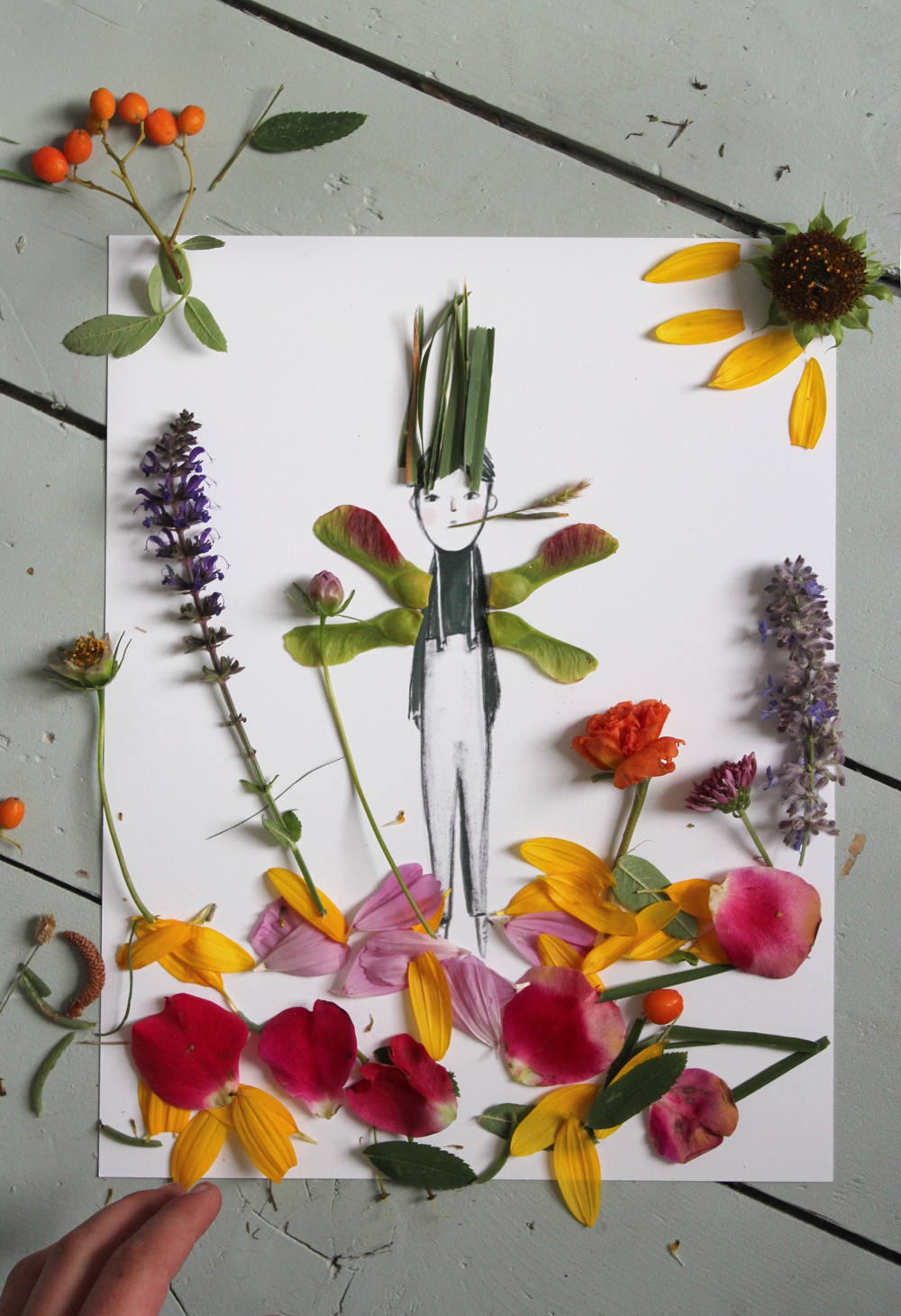 Nature Paper Dolls by Mer Mag. Come be charmed by these Sweet Spring Crafts & Finds to Welcome the Season!