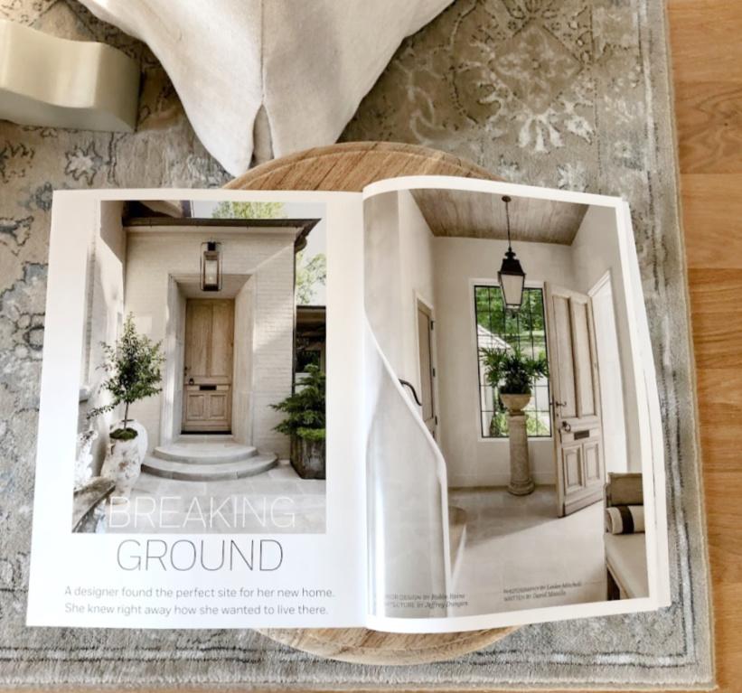 Peeks inside Milieu Spring 2021 issue - Hello Lovely Studio