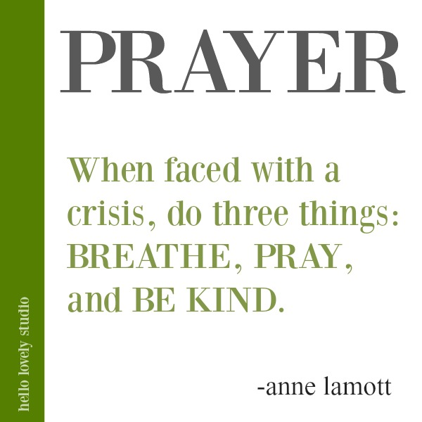 Anne Lamott quote about courage on Hello Lovely Studio. #quotes #faithquote #gcouragequote #annelamott