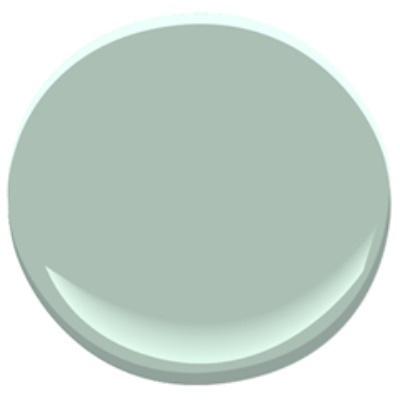 Benjamin Moore Wythe Blue paint color. #benjaminmoore #wytheblue #paintcolors