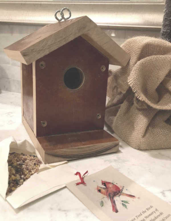 A DIY bird house we made - Hello Lovely Studio.