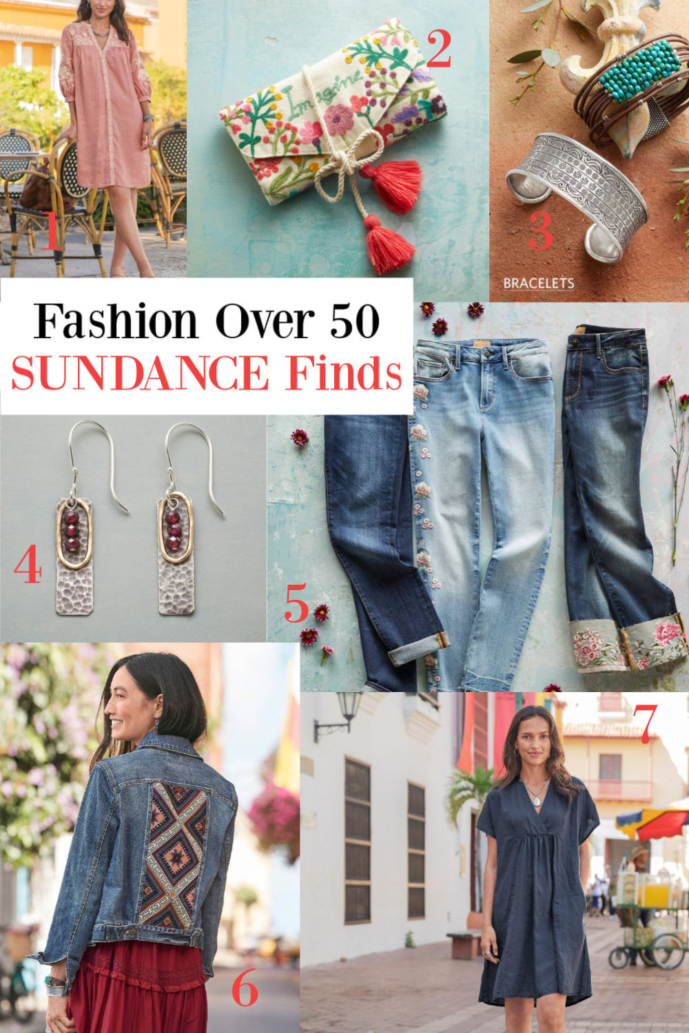 Fashion Over 50 finds from Sundance on Hello Lovely Studio. #fashionover50 #clothing #sundancecatalog
