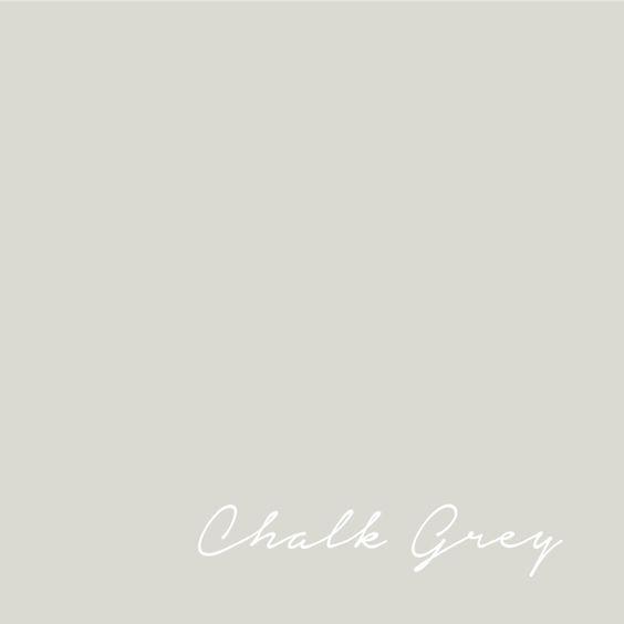 Flamant Chalk Grey paint color - France - french paint. #paintcolors #chalkgrey