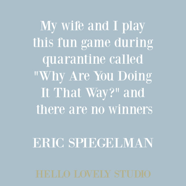 Funny quote and humor about quarantine on Hello Lovely Studio. #funnyquote #humorquotes #quarantine #pandemic #corona #therona #marriagequote #quotes