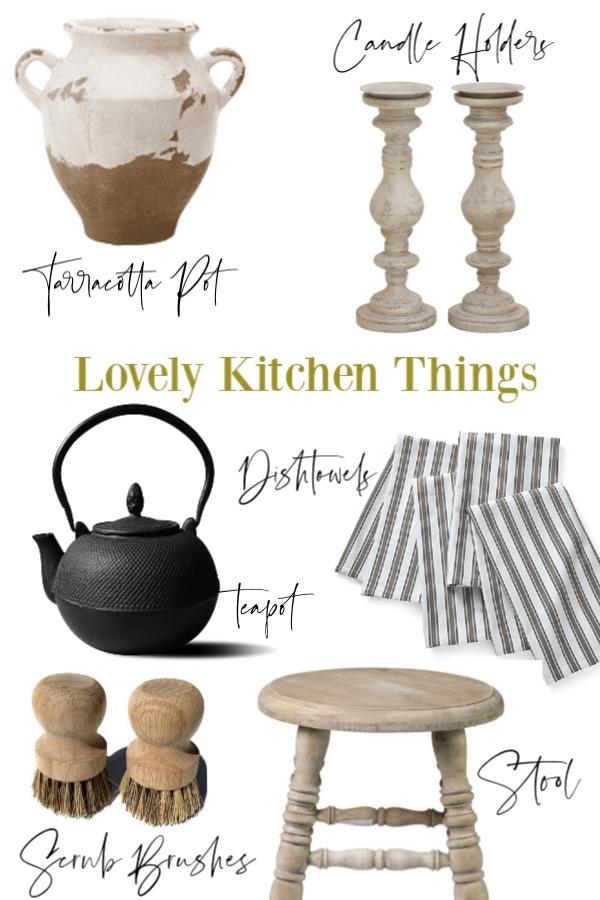 Hello Lovely Studio Lovely Kitchen Things Banner. #hellolovelystudio #kitchendesign #kitchendecor #kitchens #interiordesign
