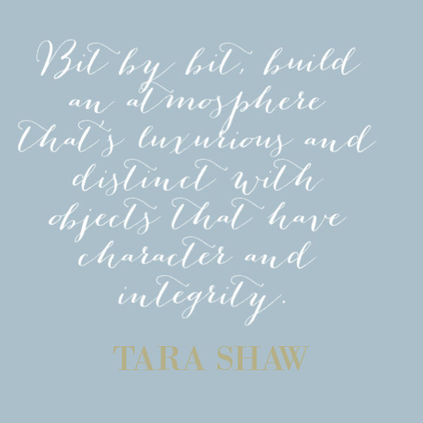 Inspirational quote from designer Tara Shaw on Hello Lovely Studio. #quotes #inspirationalquote