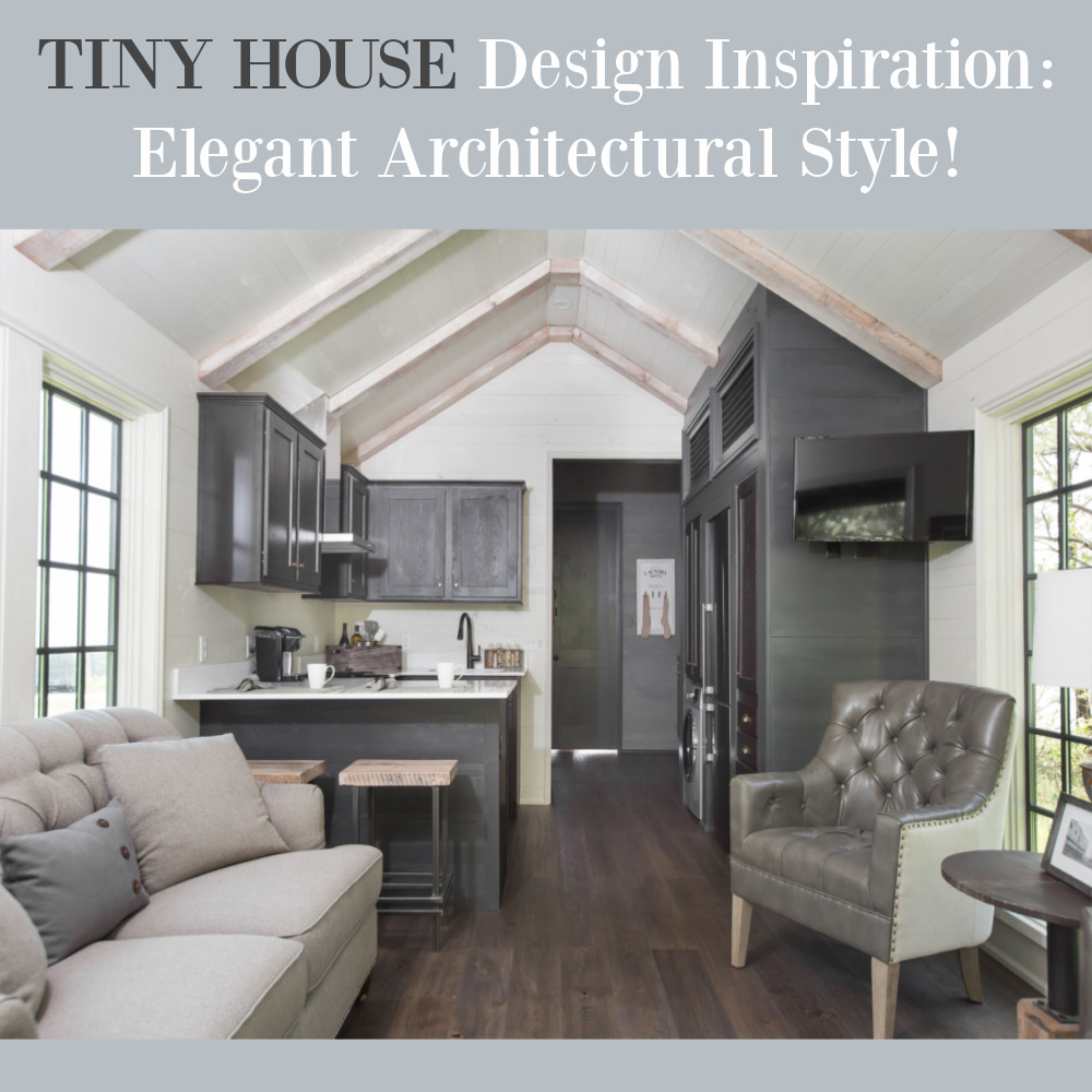 Tiny house design inspiration - come see more of this gorgeous low country style house with architecture by Jeffrey Dungan - by Retreat TN. #tinyhomes #housedesign #floorplan #tinyhousedesign