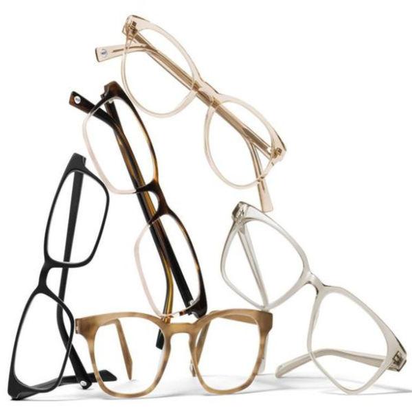 Warby Parker blue light filtering lenses