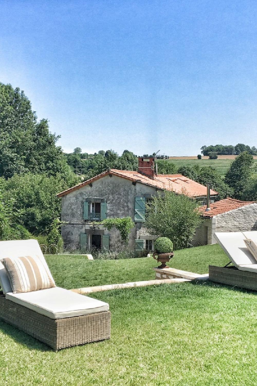 Picturesque French countryside in Western France. Vivi et Margot. #frenchfarmhouse #exterior #vivietmargot