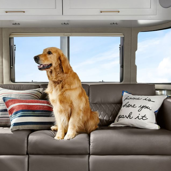 Airstream at Pottery Barn is a lovely collection of whimsical and happy camper decor whether we have a vintage camper to put in or not! #airstream #potterybarn #happycamper #whimsicalgifts #vintagecamper #homedecor