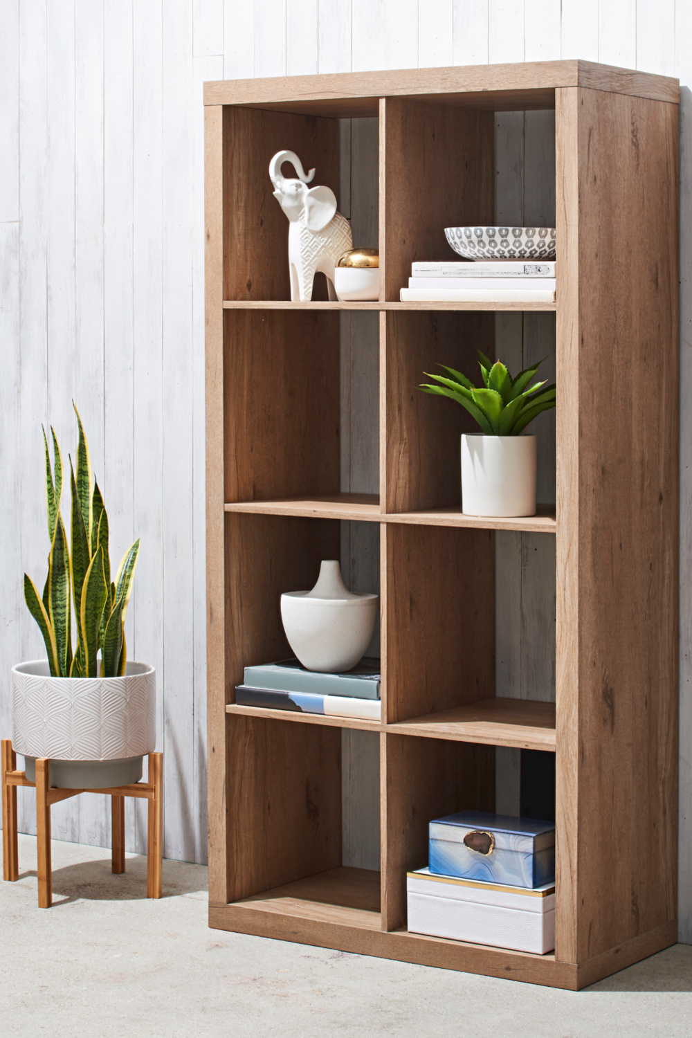 Cube Storage Organizer in natural finish from Better Homes & Gardens