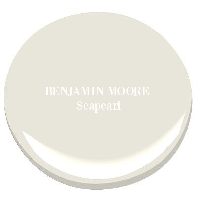 Benjamin Moore Seapearl paint color. COME FIND 3 Neutral Paint Color Ideas from Southeastern Designer Showhouse 2020! #paintcolors #benjaminmooreseapearl #seapearl