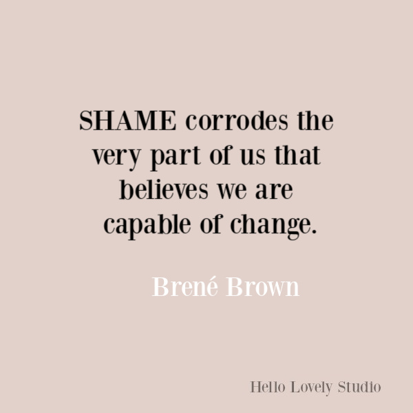 Brene Brown inspirational quote about courage, belonging, vulnerability, and integrity. #brenebrown #inspirationalquotes #wisdomquotes #selfkindness #spiritualtransformation #quotes #vulnerabilityquotes #couragequotes #selfawareness