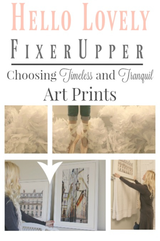 How to choose framed art prints - Hello Lovely.